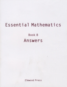 Essential Mathematics : Answers Book 8, Paperback Book