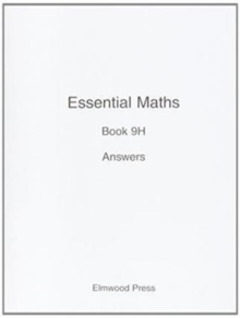 Essential Maths : Answers Bk. 9H, Paperback Book