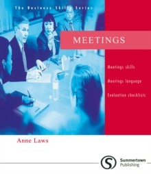 The Business Skill Series - Meetings, Paperback Book