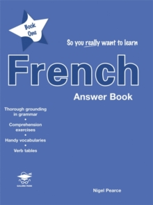 So You Really Want to Learn French Book 1 Answer Book, Paperback Book