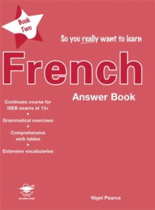 So You Really Want to Learn French Book 2 Answer Book, Paperback Book