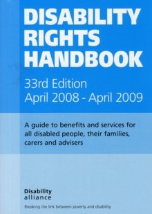 Disability Rights Handbook, Paperback Book