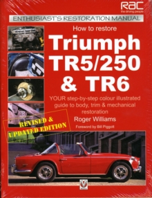 How to Restore Triumph Tr5, Tr250 and Tr6, Paperback Book