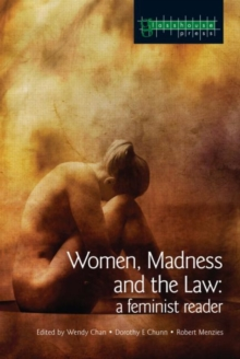 Women, Madness and the Law : A Feminist Reader, Paperback / softback Book