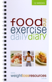Food and Exercise Daily Diary, Spiral bound Book