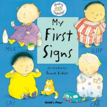 My First Signs : BSL (British Sign Language), Board book Book