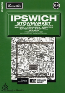 Ipswich Street Plan, Sheet map, folded Book