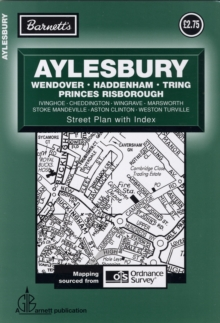 Aylesbury Street Plan, Sheet map, folded Book
