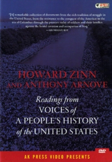Howard Zinn and Anthony Arnove: Readings from Voices Of..., DVD  DVD