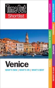 Time Out Venice Shortlist, Paperback Book