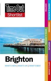Time Out Brighton Shortlist, Paperback Book