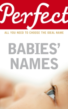 Perfect Babies' Names, Paperback Book