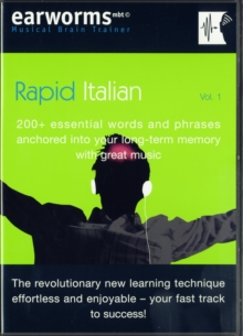 Rapid Italian : 200+ Essential Words and Phrases Anchored into Your Long Term Memory with Great Music, Mixed media product Book