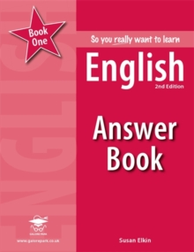 So you really want to learn English Book 1 Answer Book, Paperback Book