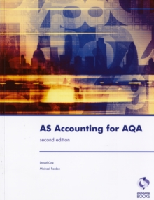 AS Accounting for AQA, Paperback Book