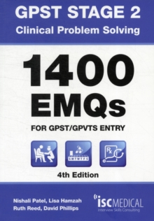 GPST Stage 2 - Clinical Problem Solving - 1400 EMQs for GPST / GPTVS Entry, Paperback Book