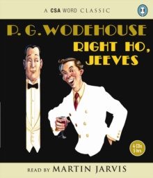 Right Ho  Jeeves, CD-Audio Book