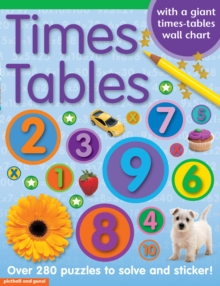 Times Tables Sticker Book, Paperback / softback Book