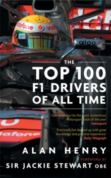 The Top 100 F1 Drivers of All Time, Paperback Book