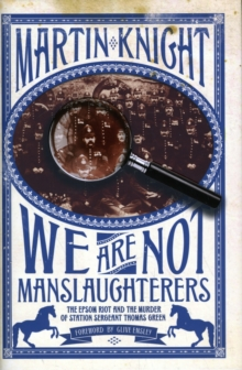 We Are Not Manslaughterers, Hardback Book