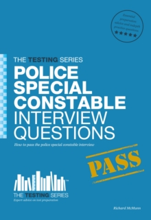 Police Special Constable Interview Questions and Answers, Paperback Book