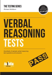 How to Pass Verbal Reasoning Tests, Paperback Book