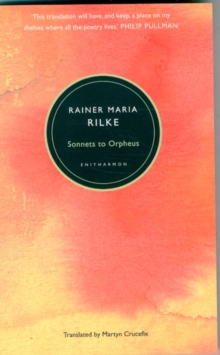 Sonnets to Orpheus, Paperback Book