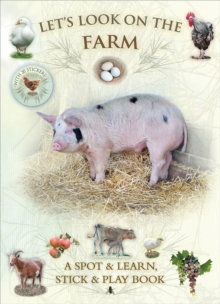 Let's Look on the Farm, Paperback Book