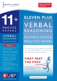 11+ Verbal Reasoning Multiple Choice Practice Papers : Pack 1, Loose-leaf Book