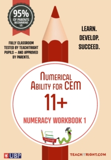 Numerical Ability for Cem 11 +: Numeracy Workbook 1, Paperback Book