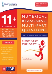 11+ Numerical Reasoning for CEM: Multipart Multiple Choice : Book 1, Paperback Book