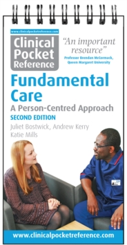 Clinical Pocket Reference Fundamental Care : A Person-Centred Approach, Spiral bound Book