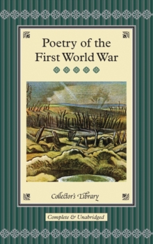 Poetry of the First World War, Hardback Book