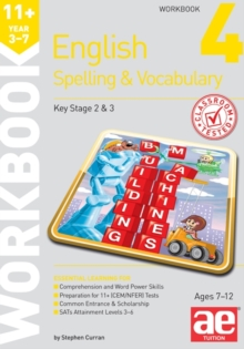 11+ Spelling and Vocabulary Workbook 4 : Intermediate Level, Paperback Book