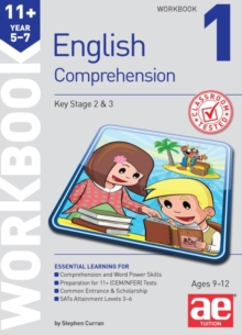 11+ English Comprehension Workbook 1, Paperback Book