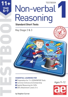 11+ Non-Verbal Reasoning Year 5-7 Testbook 1 : Multiple Choice Tests, Paperback Book
