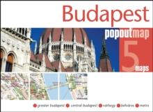 Budapest PopOut Map, Sheet map, folded Book