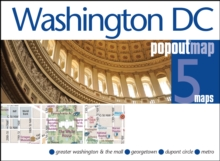 Washington DC Popout Map, Sheet map, folded Book