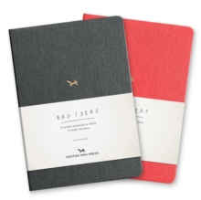 A Notebook For Bad Ideas - Grey/plain, Notebook / blank book Book