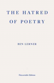 The Hatred of Poetry, Paperback Book
