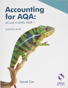 Accounting for AQA: AS and A Level Question Bank, Paperback / softback Book