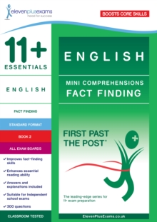11+ Essentials English: Mini-Comprehensions Fact-Finding Book 1