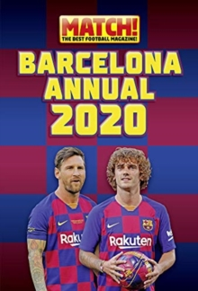 The Match! Barcelona Annual 2021, Hardback Book