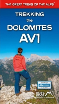 Trekking the Dolomites AV1, Paperback / softback Book
