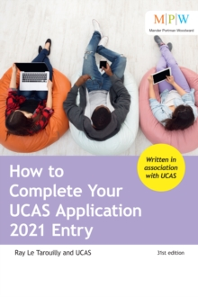 How to Complete Your UCAS Application 2021 Entry, Paperback / softback Book