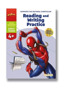 Disney Learning Spider-Man: Reading & Writing Practice 4+, Paperback / softback Book