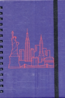 Small Spiral Notebook - New York Skyline, General merchandise Book