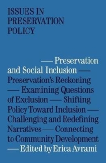 Preservation and Social Inclusion, Paperback / softback Book
