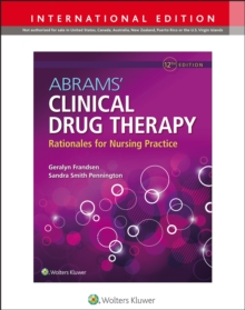 Abrams' Clinical Drug Therapy, Paperback / softback Book