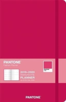 Pantone Planner 2020 Compact Ruby Red - 18 Month, Diary Book